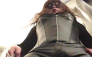 Leather Pants Tranny